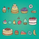 Kuchen 2 Lizenzfreies Stockbild
