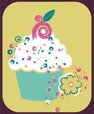 Kuchen-Abbildung Lizenzfreie Stockfotografie