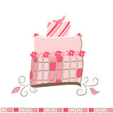 Kuchen-Abbildung - vektorbild Stockfotografie