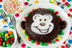 Kuchen-Affe Lizenzfreies Stockfoto