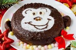 Kuchen-Affe Lizenzfreies Stockbild