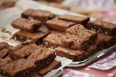Kuchen auf Bildschirmanzeige am Strömungsabriß Lizenzfreie Stockfotografie