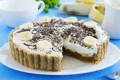 Kuchen Banoffi Stockbilder