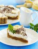Kuchen Banoffi Lizenzfreies Stockfoto