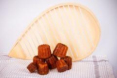 Kuchen canneles von Frankreich Lizenzfreie Stockfotografie