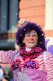 Kuchen-Clown lizenzfreie stockfotografie