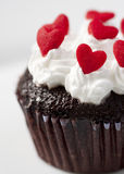 Kuchen des Heilig-Valentinsgrußes Stockfoto