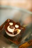 Kuchen des Teddybären Lizenzfreie Stockbilder
