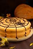 Kuchen für Halloween Stockbilder