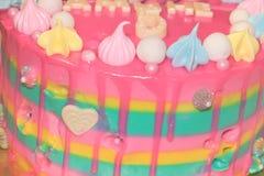 Kuchen für Mädchen Stockfoto