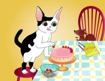Kuchen für Mutter Lizenzfreies Stockfoto