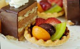 Kuchen für Tee Lizenzfreies Stockbild