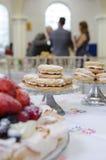 Kuchen gegründet am Ort Lizenzfreie Stockbilder
