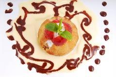 Kuchen ghanoush orientalischer arabischer Bonbon Stockbilder