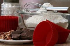 Kuchen-Herstellung Lizenzfreie Stockfotografie
