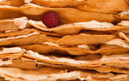 Kuchen layeres Lizenzfreies Stockbild