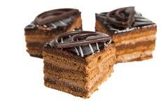 Kuchen lokalisiert lizenzfreies stockfoto