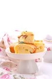 Kuchen mit Äpfeln lizenzfreie stockbilder