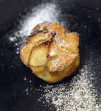 Kuchen mit Apfel Lizenzfreie Stockfotos