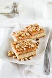 Kuchen mit Creme Chantilly Lizenzfreie Stockfotografie
