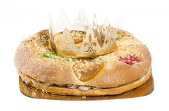 Kuchen mit drei Königen Lizenzfreies Stockbild