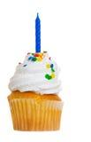 Kuchen mit Kerze lizenzfreie stockfotografie