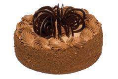 Kuchen mit Sahne Stockfotos