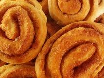 Kuchen mit Spirale Lizenzfreie Stockfotos