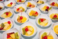 Kuchen, Nachtisch, Kremeis, Kuchen, buffet Stockbilder