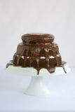 Kuchen-Schokolade Lizenzfreie Stockfotografie
