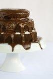 Kuchen-Schokolade Lizenzfreie Stockbilder
