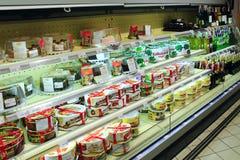 Kuchen-Shop mit breiter Zusammenstellung Lizenzfreie Stockfotografie