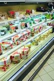 Kuchen-Shop mit breiter Zusammenstellung Lizenzfreie Stockbilder