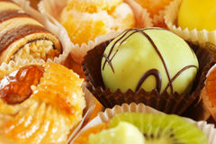 Kuchen und Gebäck Lizenzfreie Stockfotos