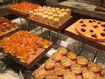 Kuchen und Gebäck Stockbild