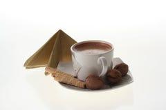 Kuchen und Kaffee Lizenzfreies Stockfoto