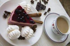 Kuchen und Meringen 10 Lizenzfreie Stockfotografie