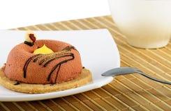 Kuchen und Tee Stockfotos