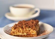 Kuchen und Tee Lizenzfreies Stockbild