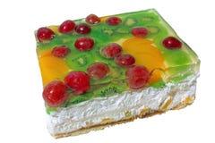 Kuchen vom Hüttenkäse Stockbild