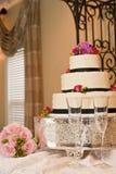 Kuchen vor Zeremonie stockbild