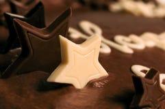 Kuchendekoration - Sterne lizenzfreies stockfoto