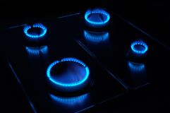 kuchenka gazowa Zdjęcie Stock