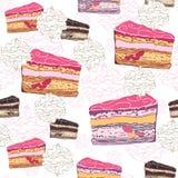 Kuchenmuster Lizenzfreie Stockbilder