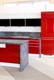 kuchenna czerwień zdjęcia stock