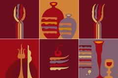 Kuchenna ikona Fotografia Royalty Free