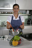 kuchenna kobieta zdjęcia stock