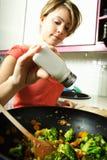 kuchenna kobieta Zdjęcie Stock