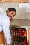 kuchenna kobieta Obraz Royalty Free