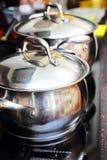Kuchenna kuchenka Zdjęcia Royalty Free